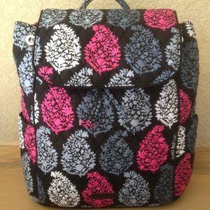 New Vera Bradley Drawstring Backpack